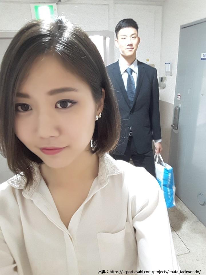 江畑秀範の姉写真